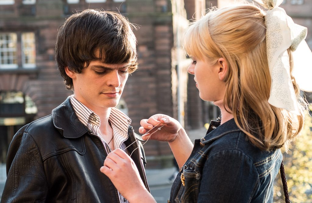 Conor Berry  and Tara Lee in Schemers