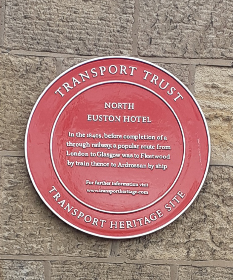 The North Euston Hotel Transport Heritage site Fleetwood