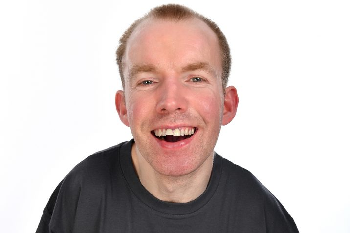 Lee Ridley (Lost Voice Guy) - Photo credit, Steve Ullathorne