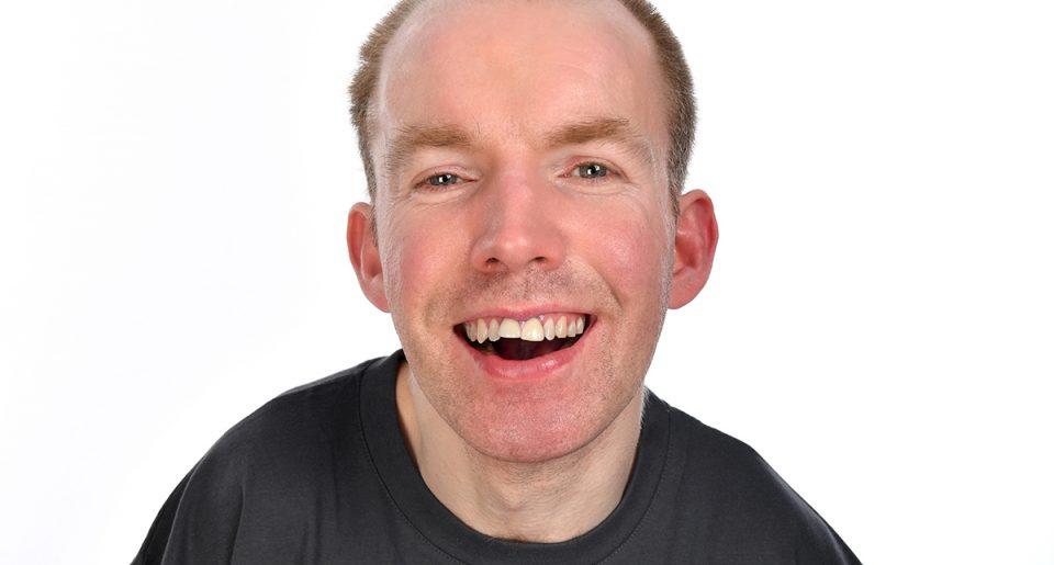 Lee Ridley (Lost Voice Guy) - Photo credit, Steve Ullathorne