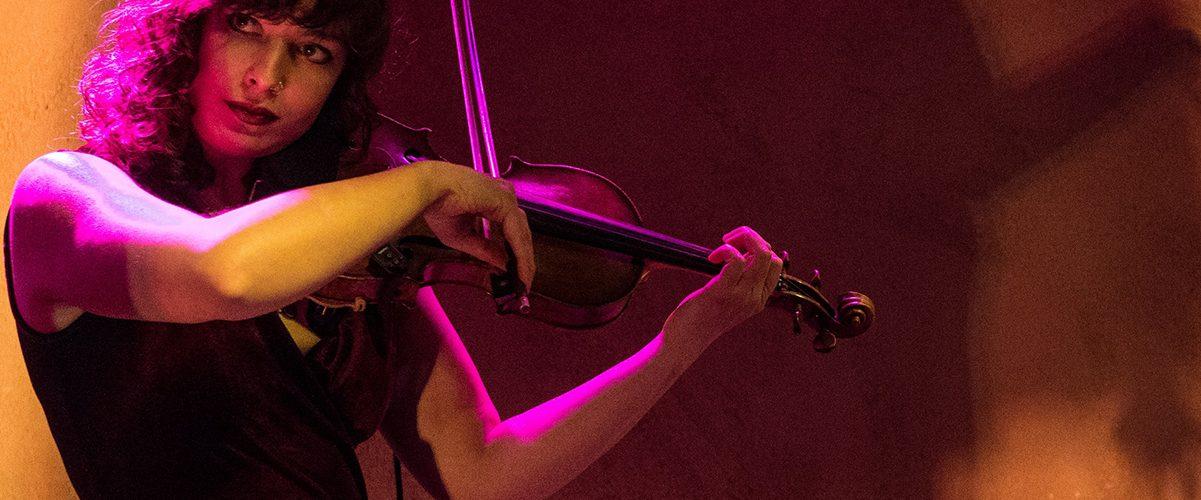 Violinist Anna Lowenstein