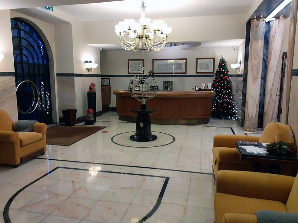 Art Deco at its best at Hotel Britania