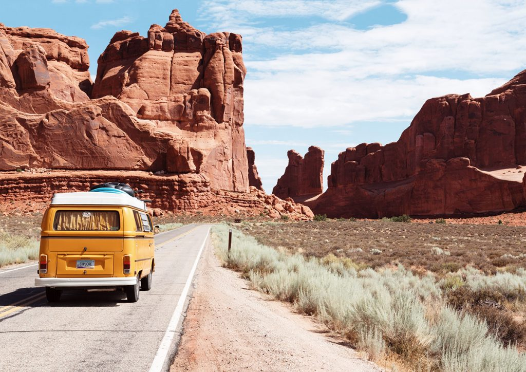 Arches National Park Entrance Station, Moab, United States Photo by Dino Reichmuth on Unsplash