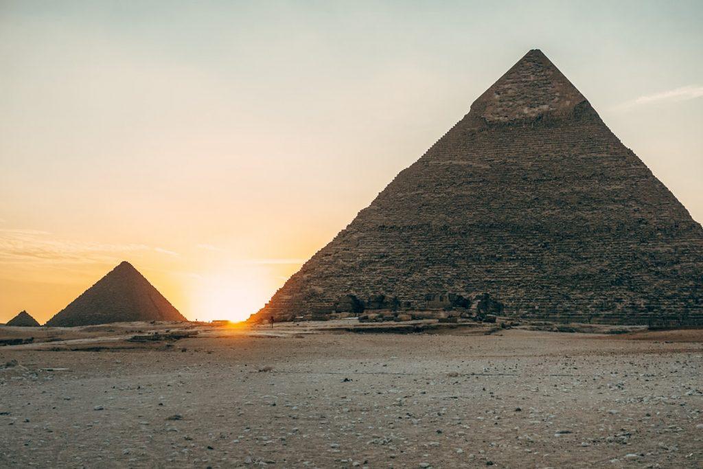 Pyramids in Cairo, Egypt