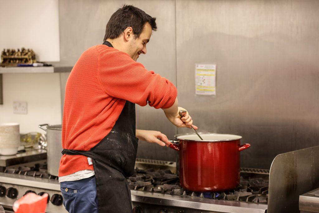 Chef Leo Burtin