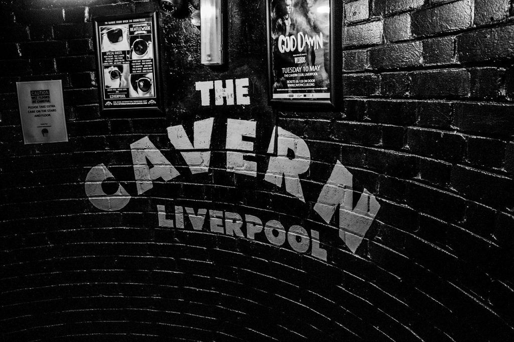 Cavern Club, Liverpool. Image by Alberto Barco Figari from Pixabay