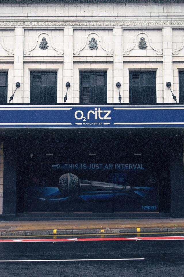 O2 Ritz Manchester Photo by Matthew Waring on Unsplash