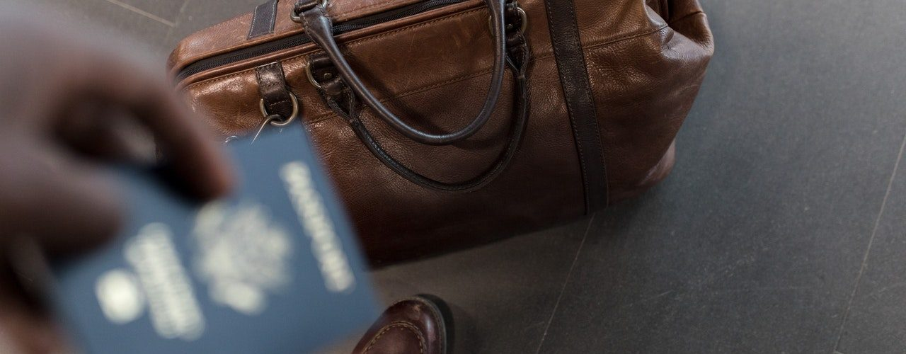 Passport and bag