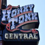 Honky Tonk bar sign