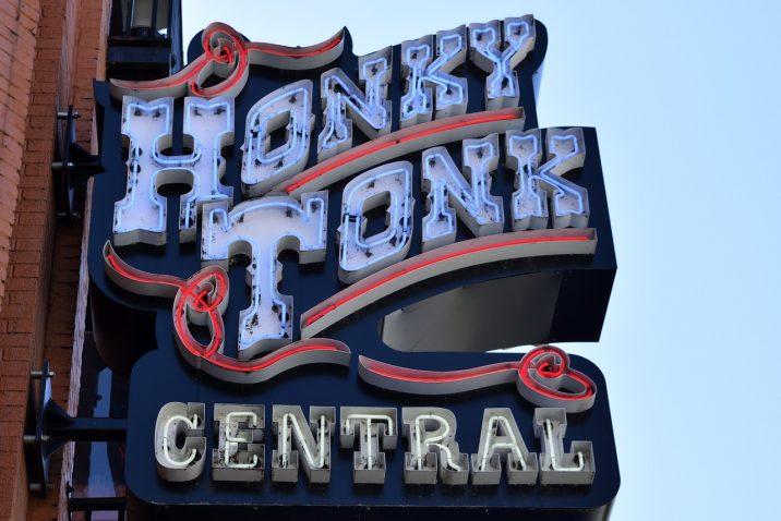 Honky Tonk bar sign