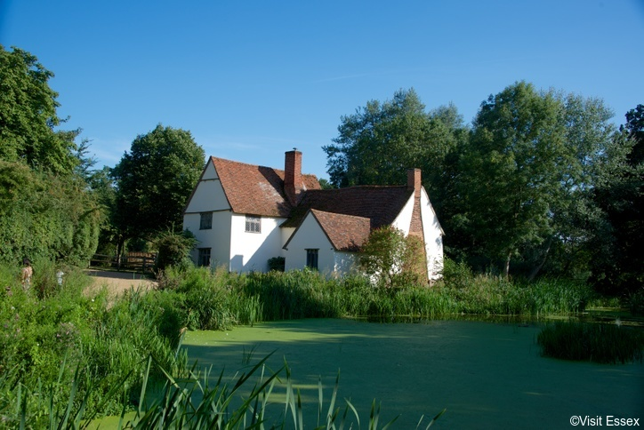 Willy Lot's cottage at Flatford Mill, East Bergholt