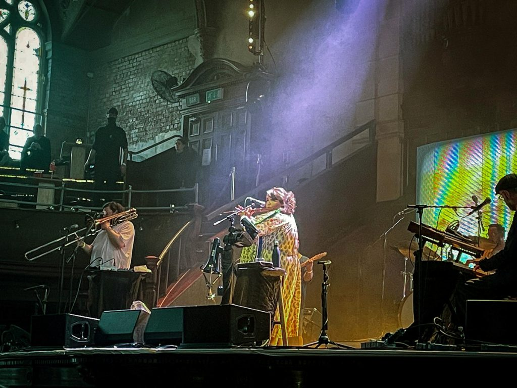 Honeyfeet live at Albert Hall Photo credit Martin Bush