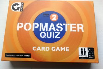 Popmaster Quiz Card Game