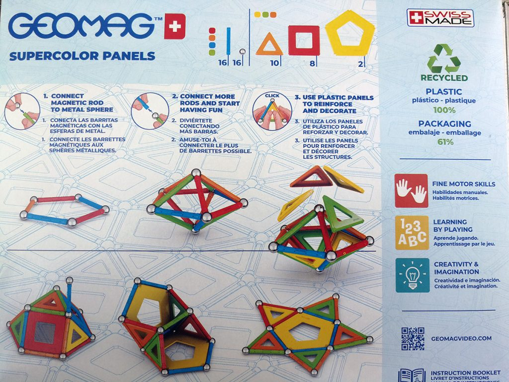 Geomag Supercolor Panels